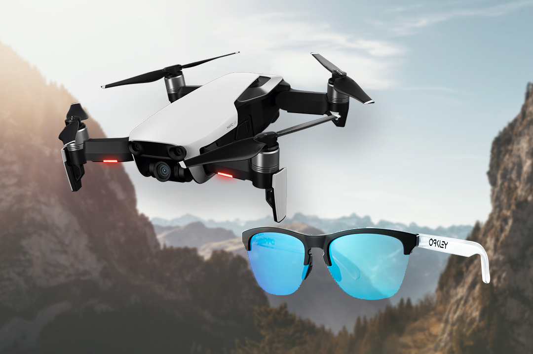 DJI Mavic Air Fly More Combo × OAKLEY サングラスセット